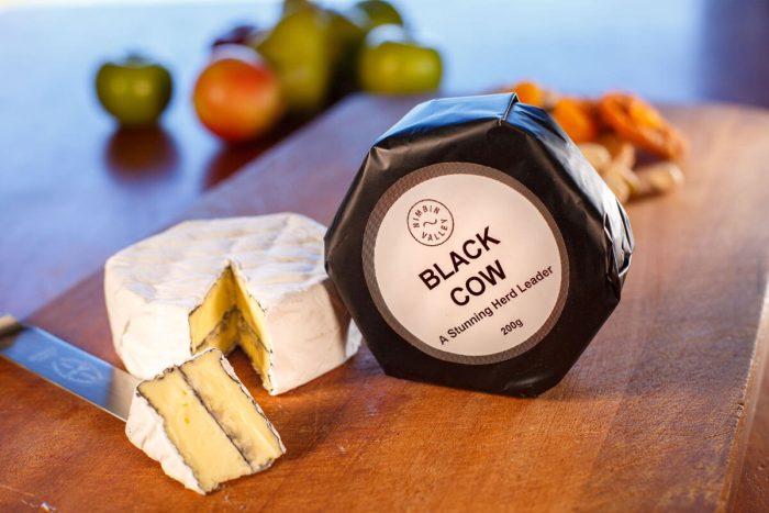 Black Cow Cheese Wrap   Nimbin Valley Dairy